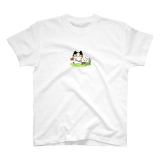 草刈り猫 T-shirts