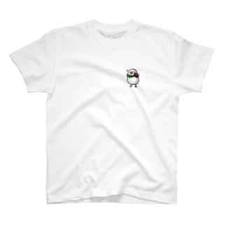 メインディッシュ文鳥 T-shirts