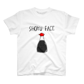 醤油顔Tシャツ T-shirts