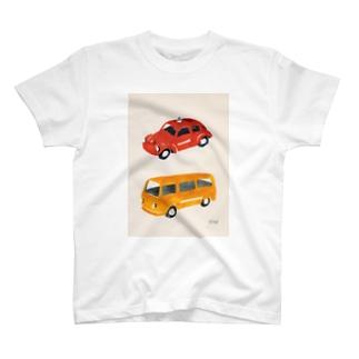 ミニカー T-shirts