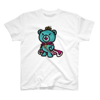 BASEfor  Bear Green T-shirts
