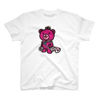 BASEfor Bear Pink T-shirts