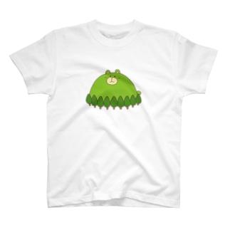 くまがおかさん T-shirts