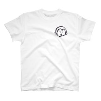 灯籠Aパターン胸元 T-shirts