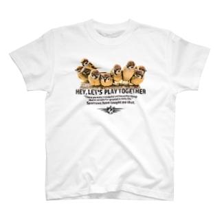 aliveONLINE SUZURI店の一緒に遊ぼう! 2021 #001 T-shirts