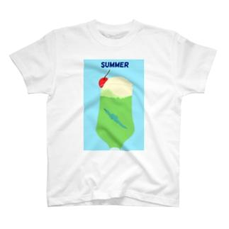 るい@自然科学グッズのスピノインソーダ T-shirts