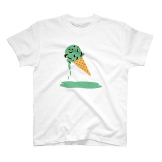 チョコミントチョコちゃん T-shirts