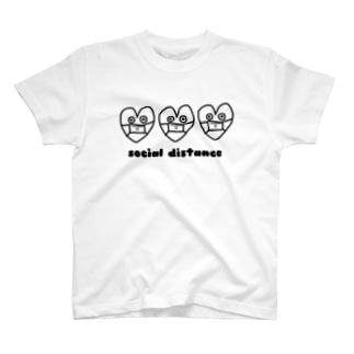 しんぞうくん三連 T-shirts