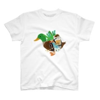 カモネギマスターの雑貨とグッズTシャツ T-shirts