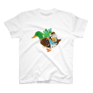 chicodeza by suzuriのカモネギマスターの雑貨とグッズTシャツ T-shirts