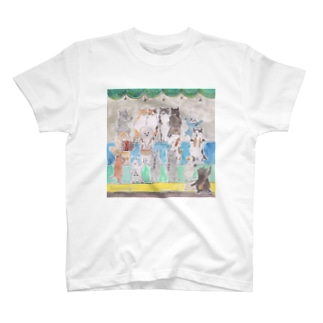 コムギアニマル音楽隊 T-shirts