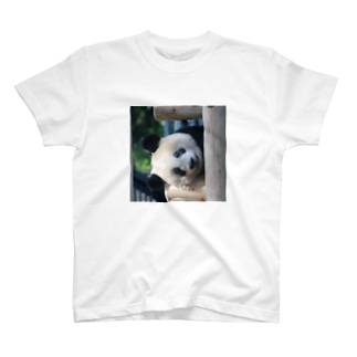 gackeyのひょっこりシャンシャン T-shirts