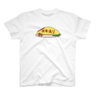 スキあり T-shirts
