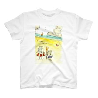 ビルの夏休み T-shirts