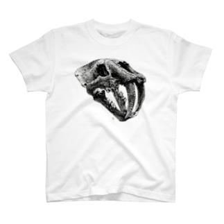 Smilodin(skull) T-shirts