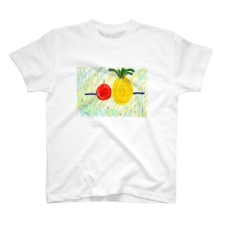 棒パイナッポーアッポー棒 T-shirts