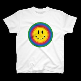 よりのレインボースマイル T-shirts