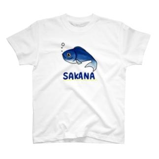 お魚ちゃん T-shirts