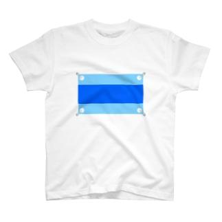MAYUのマラソンゼッケン(ブルー) T-shirts