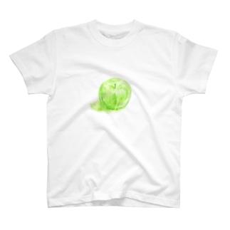 ノートに描いたリンゴ T-shirts