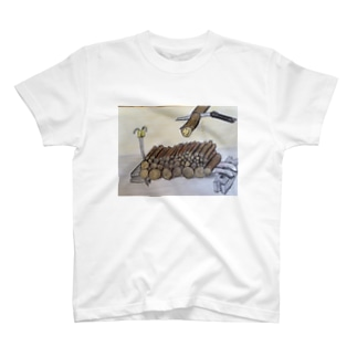 クリーマンキャンプシリーズ T-shirts