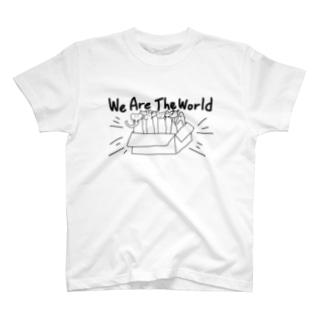 大集合だわいわい T-shirts