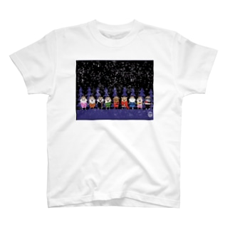 マーベルドッグス笠地蔵 T-shirts