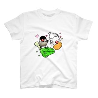もぐもぐ文鳥ず① T-Shirt