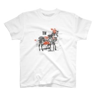 シマウマ T-shirts