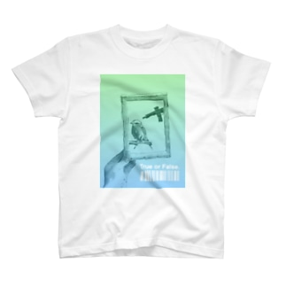 無実に銃が向けられる? T-shirts