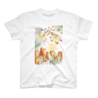無重力尚靴履Tシャツ(never more 04) T-shirts