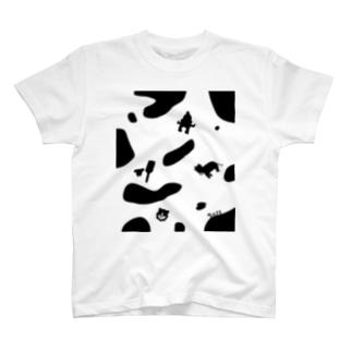 あけおめうし T-shirts