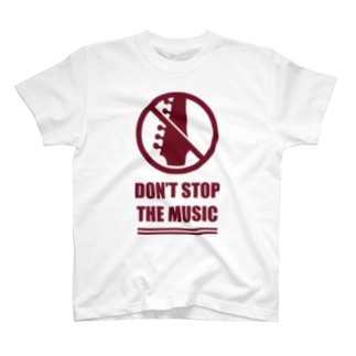 ミュージック、ギター T-shirts