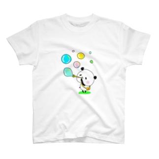 ぽよぽよパンダ T-shirts