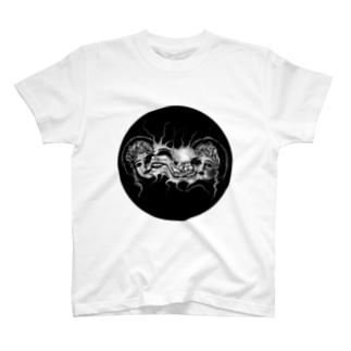 EerieのFace T-shirts