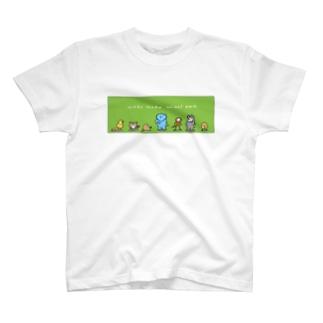 ワクワク!どうぶつパーク T-shirts