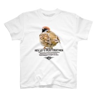 aliveONLINE SUZURI店の一緒に遊ぼう! 2021 #002 T-shirts