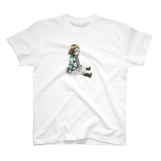 おすわりブリュ T-shirts