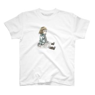 おすわりブリュ パステル T-shirts