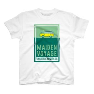 T2VAN MAIDEN VOYAGE T-shirts