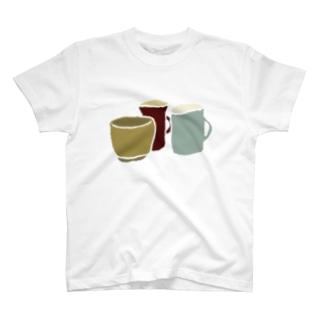 くらしのうつわ T-shirts