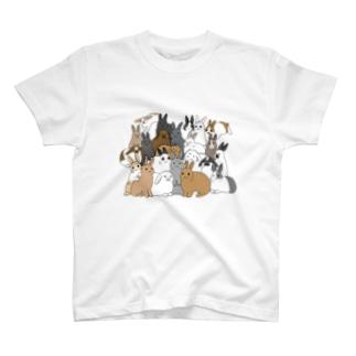 うさうさうさうさ T-shirts