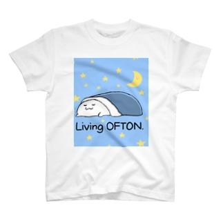 宇宙でオフトゥンぐらし! T-shirts