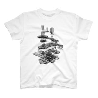 てらおか現象のギフトカード スクラッチ機 T-shirts