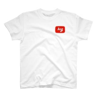 k+g オリジナルアイテム T-shirts