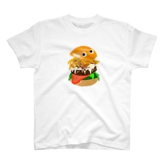 ハンバーガー T-Shirt