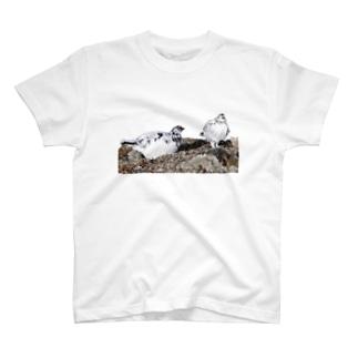 雷鳥のカップル T-shirts