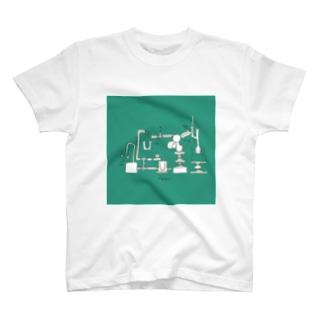 化学実験(グリーン T-shirts