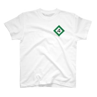 【鉄道グッズ】4両 停止位置目標 停目 T-shirts