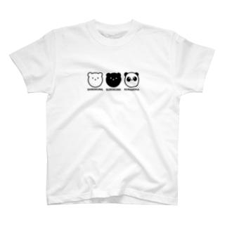 MONOCHROME BEARS T-Shirt